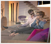 Watch 3D TV using the latest 3D Glasses