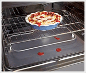 Keep your oven clean with Heavy Duty Oven Liner