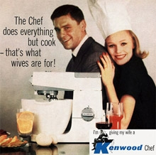 Kenwood Chef 1950s Advertisement