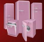 Smeg Pink Retro Matching Set
