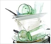 Cloudy Glassware