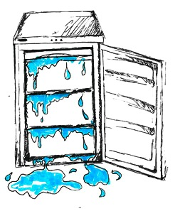 Freezer Not Working Clip Art