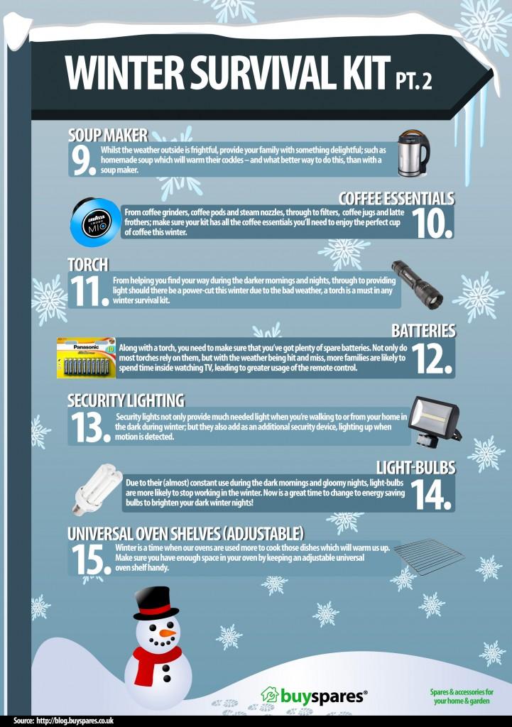 Winter Survival Kit Infographic2