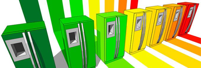Energy Efficient Fridge Freezer