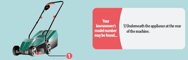 Lawnmower Model Number