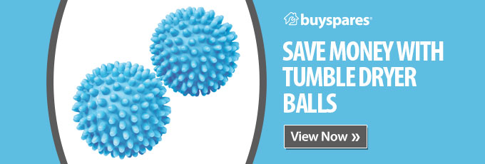 Save money with tumble dryer balls