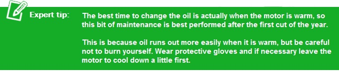 Expert Oil Changing Tip