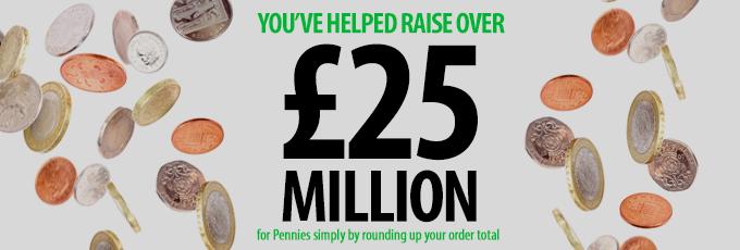 Pennies £25 Million Milestone