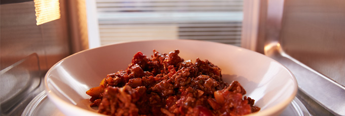Chilli Con Carne In Microwave