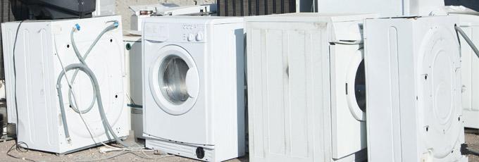 Appliances In Rubbish Dump