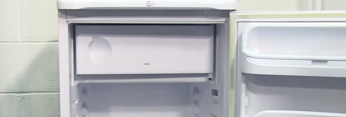 Fridge Freezer With Open Door
