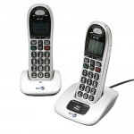 Two Cordless Phones On Stands