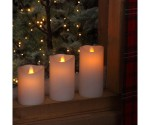 Christmas Candle Lights And Christmas Tree