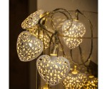 Cluster Of Heart Shaped Christmas Lights