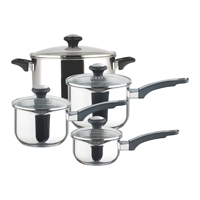 Set Of Prestige Straining Saucepans