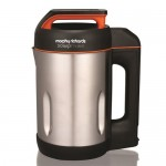 Black And Stainless Steel Soup Maker