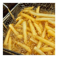 Deep Fat Fryer With Chips In