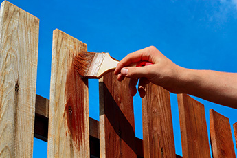 Hand Painting Fence