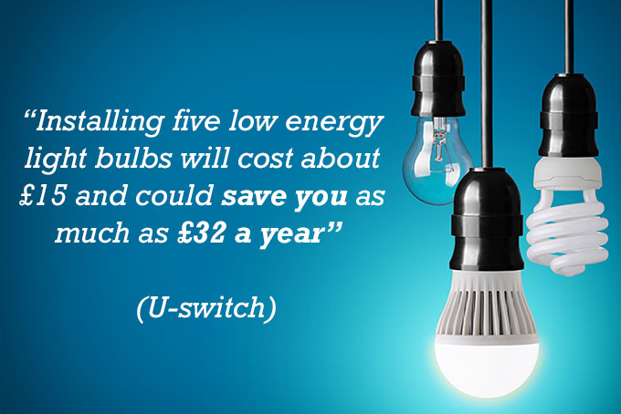 Lightbulb Energy Saving Quote