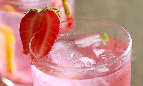 Summer Strawberry Lemonade Image
