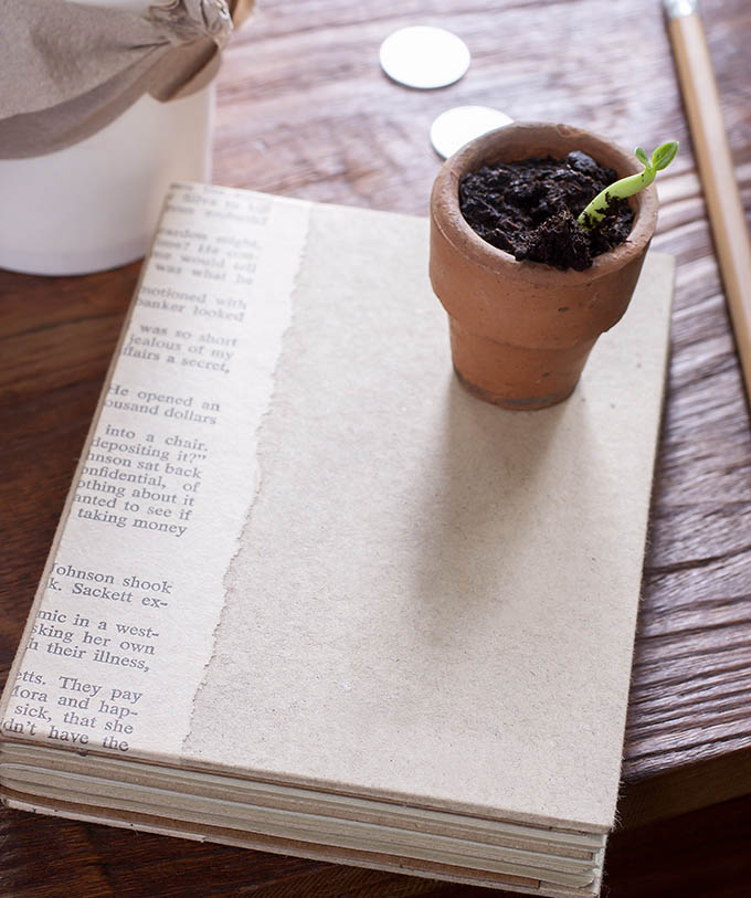 Notepad On Wooden TableNotepad On Wooden Table