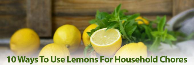Lemons On Chopping Board