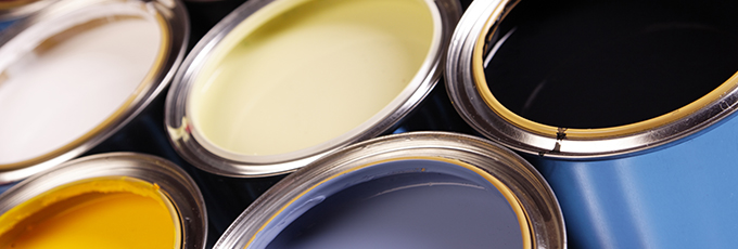 Colorful Paint Cans Picture