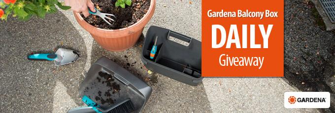 Gardena Balcony Box Giveaway