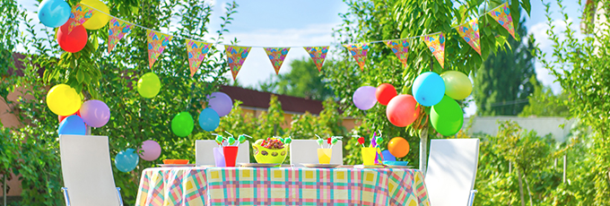 Summer Garden Party Decorations