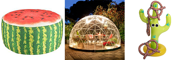 Igloo, Watermelon Seat And Game