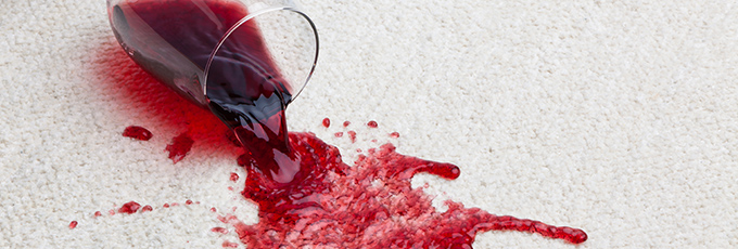 Wine Spilling On Carpet