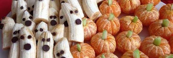 Halloween Bananas And Oranges