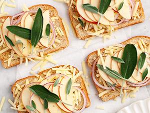 Apple & Sage Grilled Cheese Sandwich