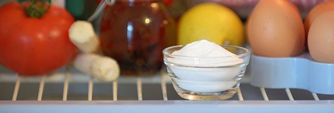 Bicarbonate of soda in fridge