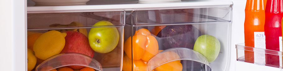 Fridge crisper drawers