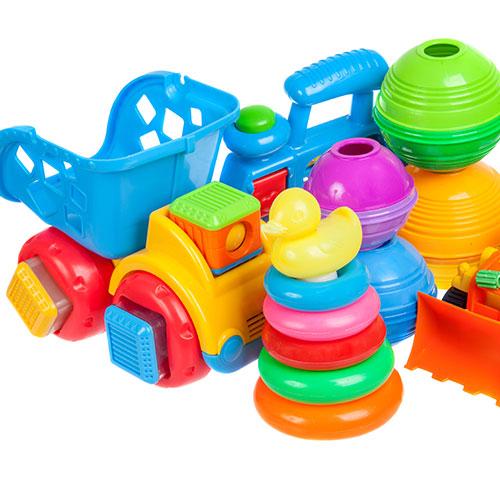 Plastic kids toys