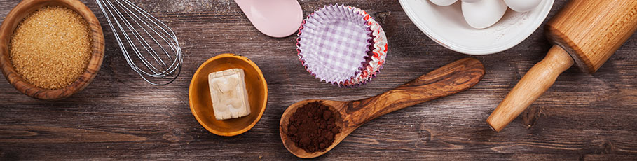 Baking tools and essentials