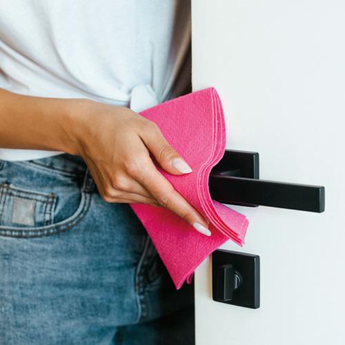 Wiping Door Handle